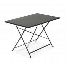 ALRICK Mesa 110x70 metal gris