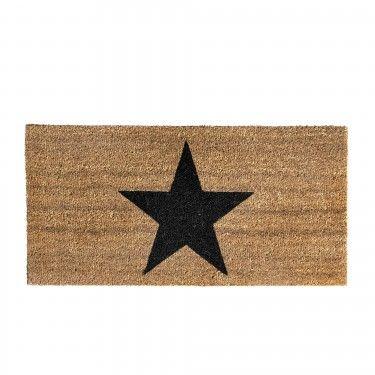 Felpudo estrella. 80x1,5x40