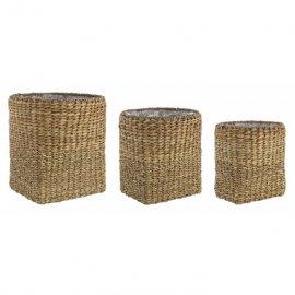 Cubremacetas de fibras naturales. 3 tamaños.