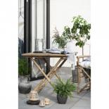 Mesa de comedor bambú.
