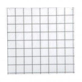 Servilletas de papel motivos cuadrados.