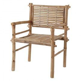 Silla de bambú. 2 uds.