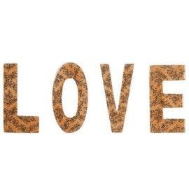 Set de letras LOVE.