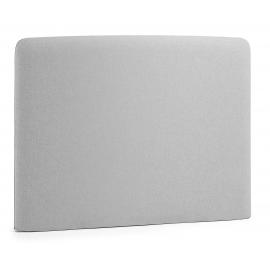 Cabecero LYDIA, colchón 90 tela gris