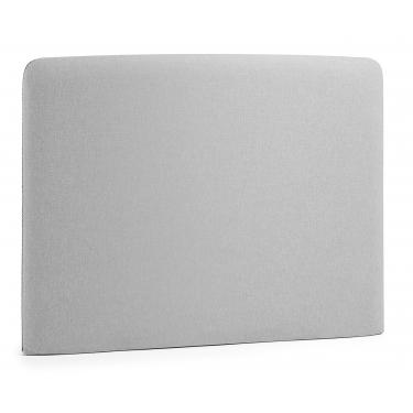 LYDIA Cabecero, colchón 90 tela gris