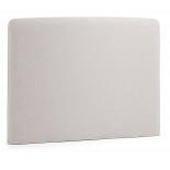 Cabecero LYDIA, colchón 90 tela beige