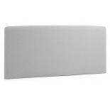LYDIA Cabecero, colchón 150 tela gris