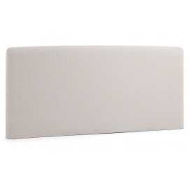 Cabecero LYDIA , colchón 150 tela beige