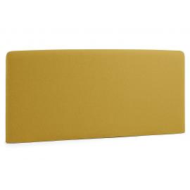 Cabecero LYDIA , colchón 150 tela mostaza