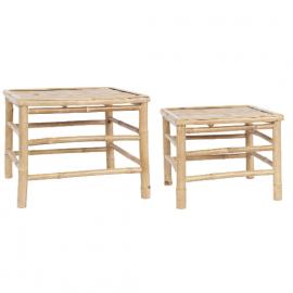 Mesa de bambú. Varios tamaños.