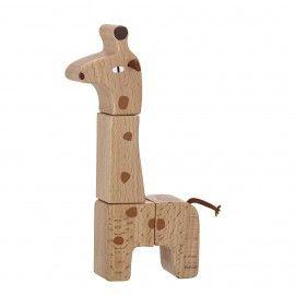 Jirafa modular en madera.