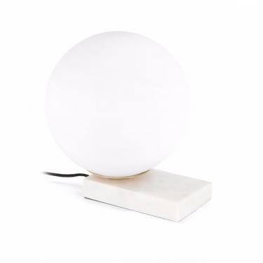 Lámpara de sobremesa Manz blanco