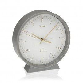 Reloj despertador de mesa.
