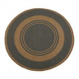 Mantel individual circular.