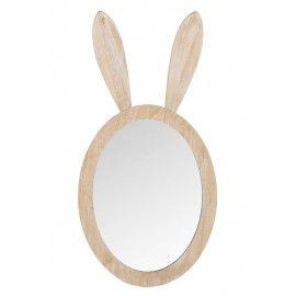 Espejo orejas de conejo.