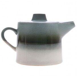 Jarra de té en degradado azul.