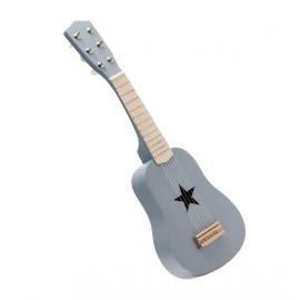 Guitarra gris.