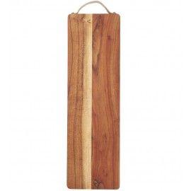 Tabla de madera de acacia.
