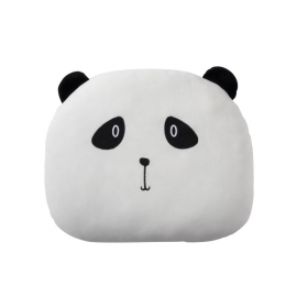Cojín cabeza de panda.