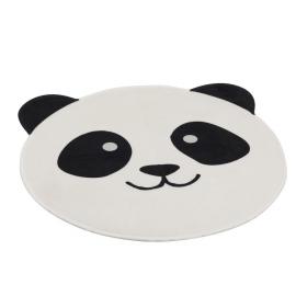 Alfombra cabeza de panda.