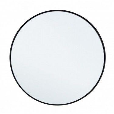 Espejo de acero negro