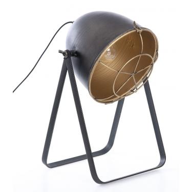 Lámpara de sobremesa metal dorado Antique