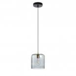 BOBBY Lámpara de techo cristal gris
