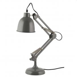 Lámpara flexo arquitecto gris.