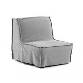 Sofá cama Lyanna 90 cm gris