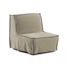 Sofá cama Lyanna 90 cm beige