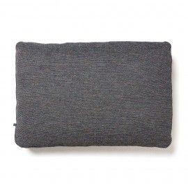 Cojín Blok 50 x 70 cm gris oscuro