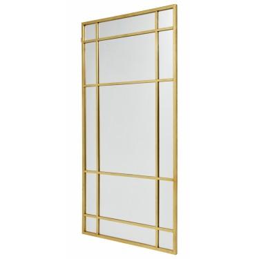 SPIRIT espejo dorado de pared 203.5x101.5