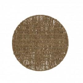 Mantel individual fibras naturales.