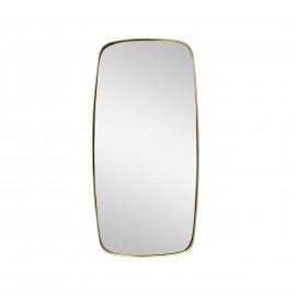 Espejo latón dorado.29x2x59