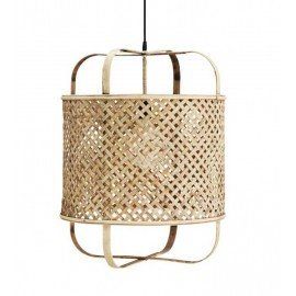 Lámpara de techo bambú D46