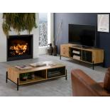 MUEBLE TV ANDY ROBLE 144x40x50CM