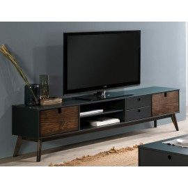 MUEBLE TV KIARA GRIS ANTRACITA 180 X 37 X 48,8 CM
