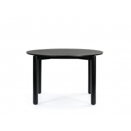 MESA REDONDA ATLAS NEGRA 125.3 X 120 X 75.3 CM