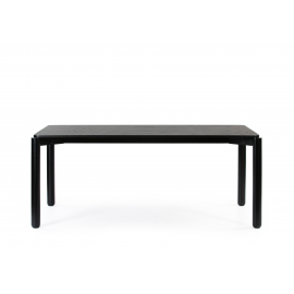 MESA RECTANGULAR ATLAS NEGRO 180 X 100 X 75 CM