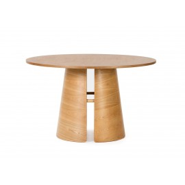 MESA REDONDA CEP NATURAL 137 X 137 X 75 CM
