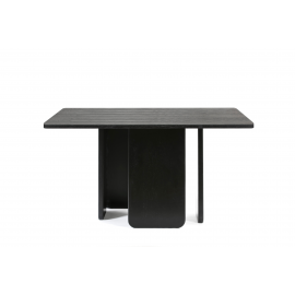 MESA CUADRADA ARQ NEGRO 2350 137 X 137 X 75 CM