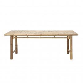 Mesa de Bambú natural 200 x 74 x 100 cm