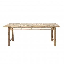 Mesa de Bamboo natural 200 x 74 x 100 cm