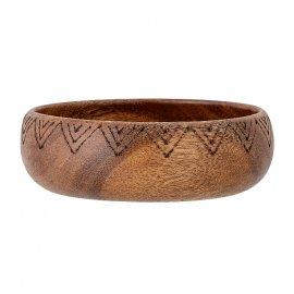 Bowl en madera de acacia natural.