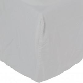 Sábana bajera Son de algodón lavado a la blanco. Varios tamaños.