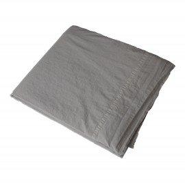 Sábana SON algodón lavado a la piedra gris piedra .Varios tamaños.