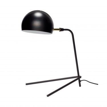 Lámpara de estudio negra.