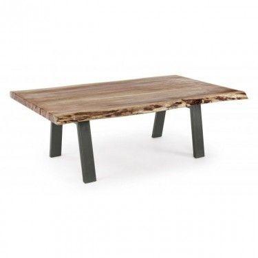 Mesas de centro metalicas mesa patas metlicas y tapa - Patas para mesa de centro ...