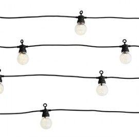 Guirnalda de luces LED.