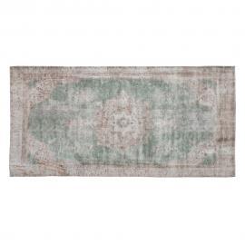 ALFOMBRA INDIA TURQUESA 80 X 150 CM